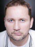 Closeup portrait of man Stock Image