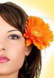 Closeup Portrait Of Beautiful Young Woman Royalty Free Stock Photos
