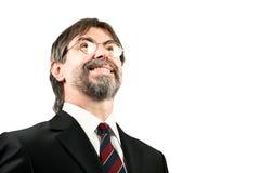 Portrait of a senior businessman smiling Stock Photos