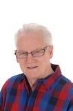 Closeup portrait of senior man. Royalty Free Stock Images