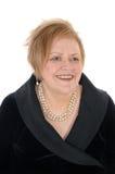 Closeup portrait on senior woman. Royalty Free Stock Image