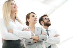 Closeup portrait of successful business team. the business concept Stock Photos