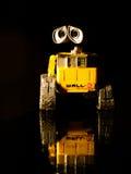 Closeup portrait of Wall-E Stock Image