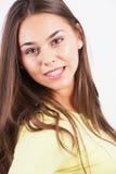 Closeup portrait of yong woman Royalty Free Stock Image