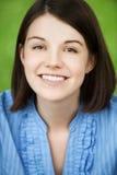 Closeup portrait of young beautiful Stock Photo