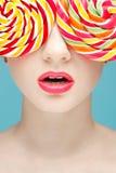 Sugarplum glasses Royalty Free Stock Images
