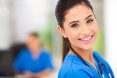 Medical worker closeup Royalty Free Stock Image