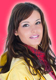 Closeup portrait of young woman Royalty Free Stock Photography