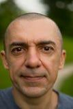 Closeup portraite of man Stock Photo