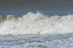 Closeup of pounding ocean wave Stock Photo