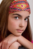 Closeup of preteen Royalty Free Stock Photos