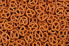 Closeup of Pretzels Stock Photography