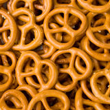 Closeup of Pretzels. Royalty Free Stock Photography