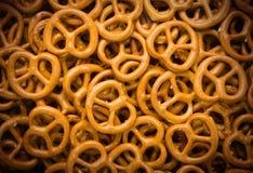 Closeup of Pretzels. Fills the Frame Royalty Free Stock Photo
