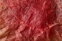 Closeup of prosciutto Royalty Free Stock Photos