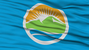 Closeup of Provo City Flag Royalty Free Stock Photography