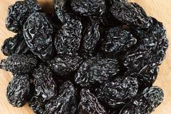Closeup prunes background Stock Images
