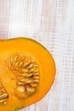Closeup of a pumpkin Stock Photo