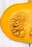 Closeup of a pumpkin Stock Photography