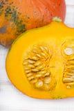 Closeup of a pumpkin Royalty Free Stock Photography
