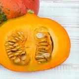 Closeup of a pumpkin Royalty Free Stock Photo