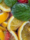 Closeup of Punch Cocktail Stock Photos