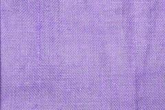 Closeup purple hessian texture background, fiber pattern background. Blank purple background royalty free stock image