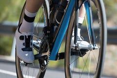 Closeup of racing bicycle royalty free stock image