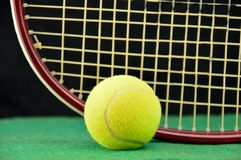 This is time to play tennis Stock Image