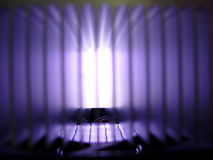 Closeup of radiator with gradation Royalty Free Stock Photos