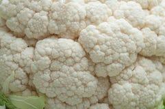 Raw Cauliflower texture. Closeup of raw Cauliflower texture Royalty Free Stock Image