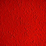 Closeup of red color grunge textured wall with  vignetting, may. Use as background with copy space for text Stock Photos