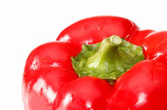 Closeup of red pepper Royalty Free Stock Image