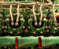 Airplane Engine Closeup Stock Image