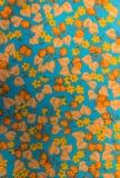 Closeup of retro fabric pattern Royalty Free Stock Photo