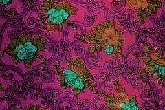 Closeup of retro fabric pattern Stock Images