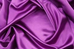 Purple silk fabric Royalty Free Stock Photos