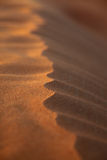 Closeup Rippled Sand Dune Stock Images
