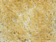 Closeup roasted bread background Royalty Free Stock Photo
