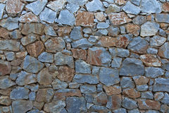 Closeup on a Rock Wall Stock Image