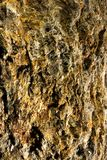 Closeup Of Rough Mineral Surface Stock Images