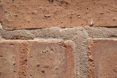 Close Up of Brick Wall Royalty Free Stock Images