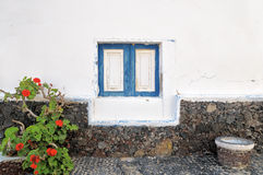 Closeup on rural house in Graciosa, Canary islands Stock Photography