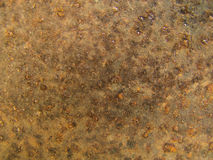 Closeup Rust texture, metal plate background Stock Image