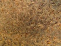 Closeup Rust texture, metal plate background Stock Image