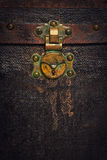 Rusty Old Chest Trunk Royalty Free Stock Images