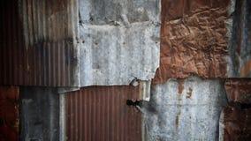Rusty zinc metal texture. Closeup rusty zinc metal texture Royalty Free Stock Image