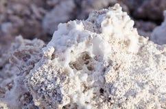 Closeup of a Salt Rock Royalty Free Stock Photography