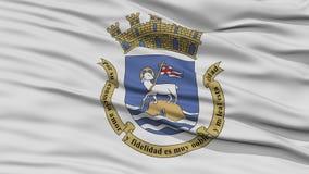 Closeup San Juan Flag Royalty Free Stock Photography