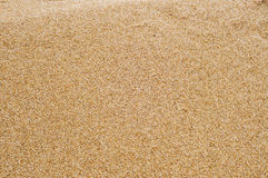 Closeup of sand Stock Photography